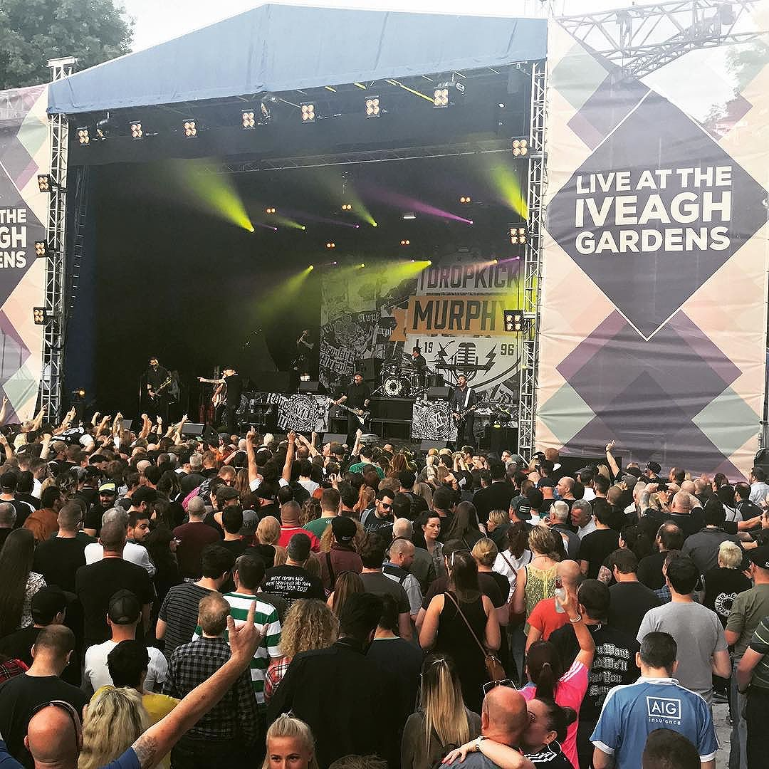 @visitdublin Summertime Dublin epic concert with Dropkick Murphys & @caragrouptravel