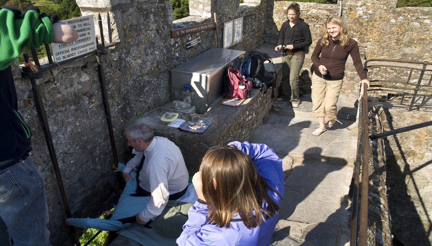 The Blarney Stone, Blarney Castle, Cork