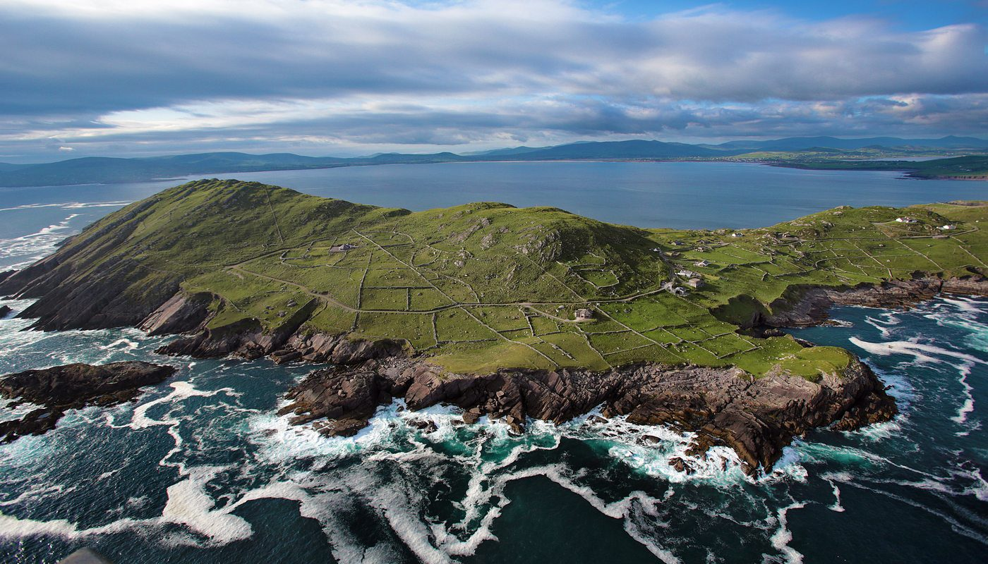 Aerial Shot of Bolus Head, County Kerry