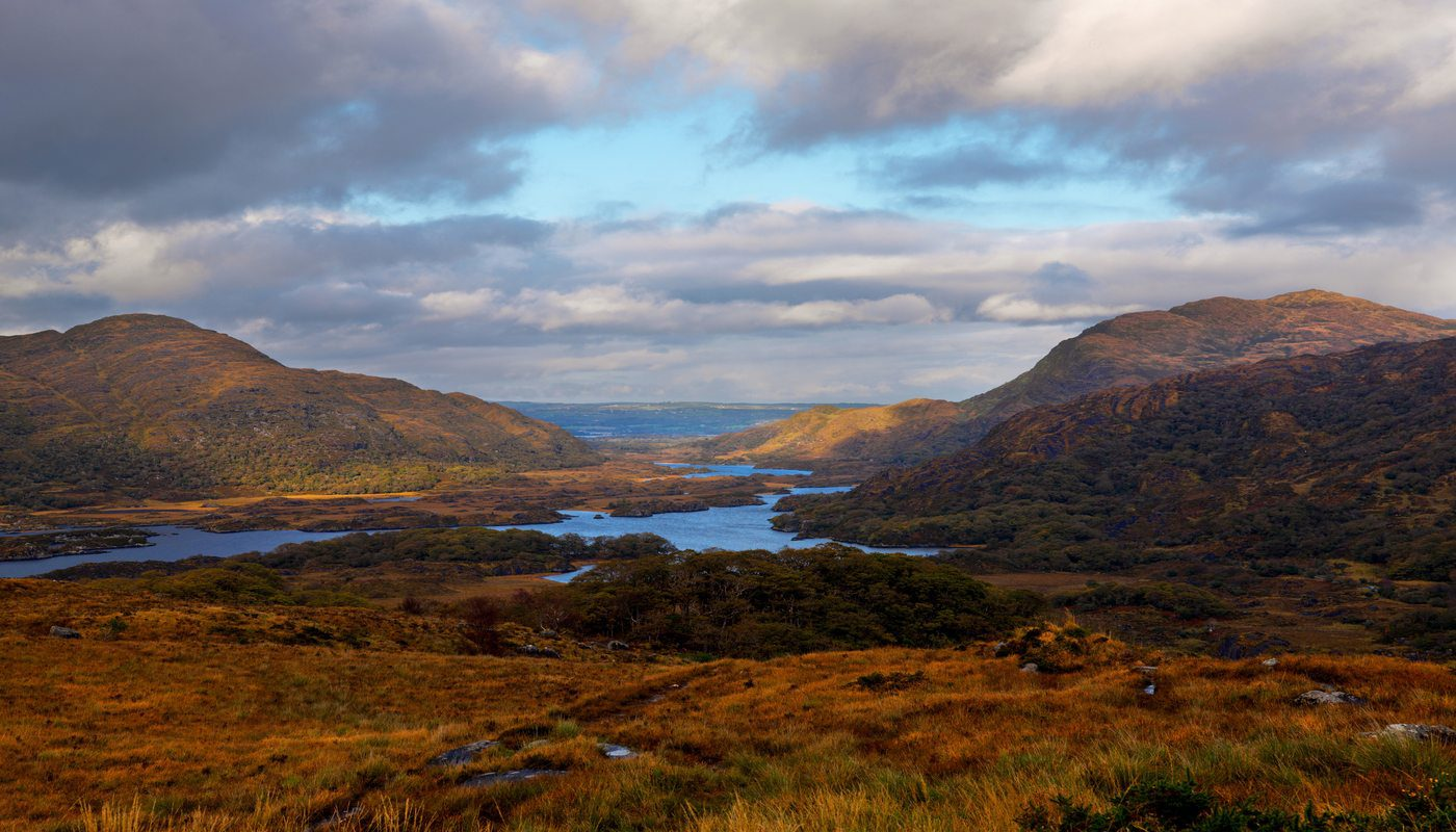 Lady's View, Upper Lakes, Killarney National Park, Co. Kerry.