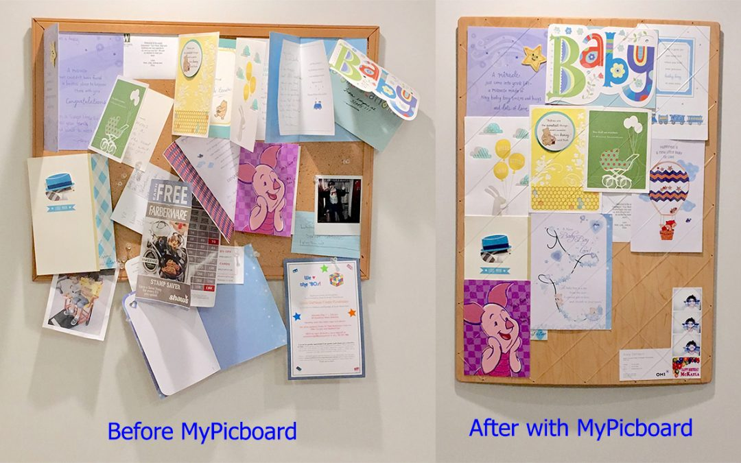 Get your world organized with a MyPicboard. A cool new thing you never knew you needed!