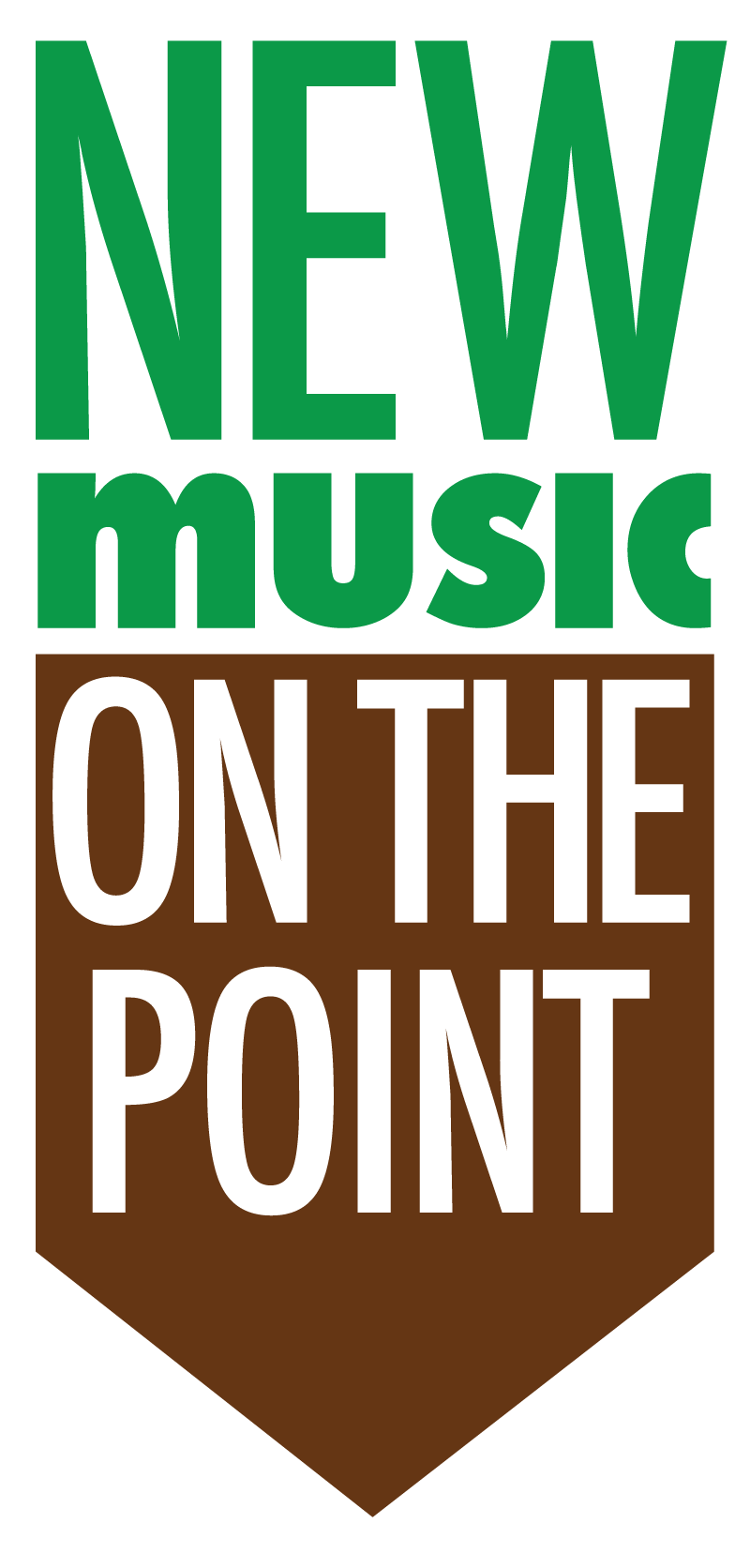 Point CounterPoint New Music on the Point Arrow Banner