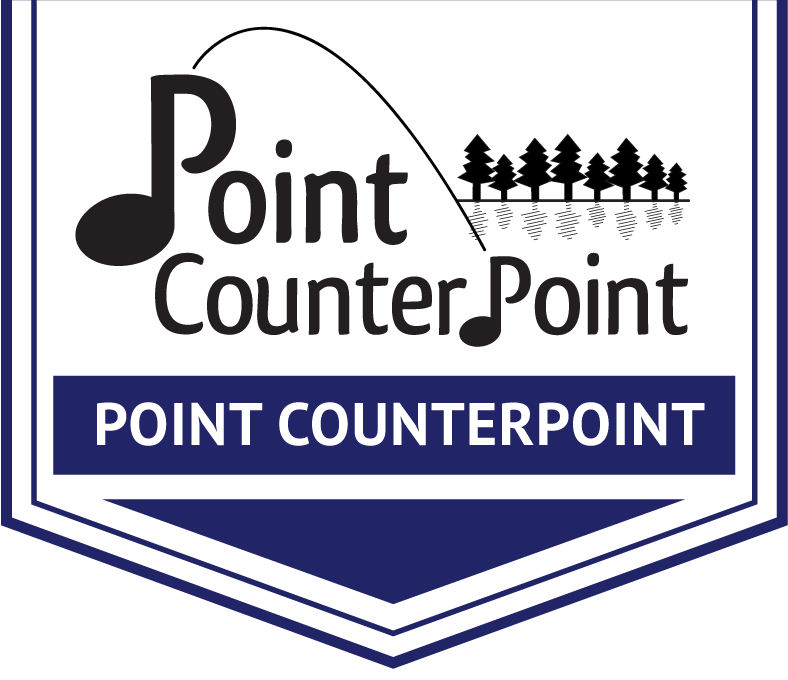 Point CounterPoint Arrow Banner