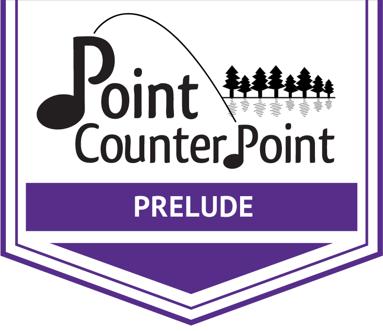 Point CounterPoint Prelude Arrow Banner