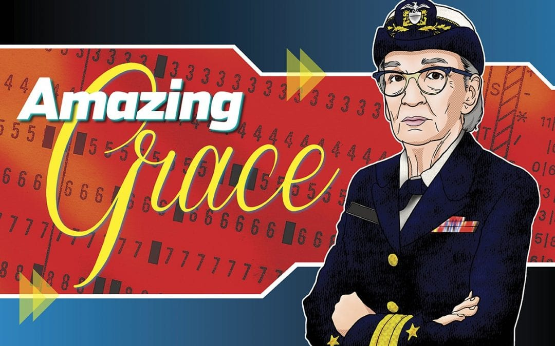 Grace Hopper: Standing on the Shoulders of a Giant